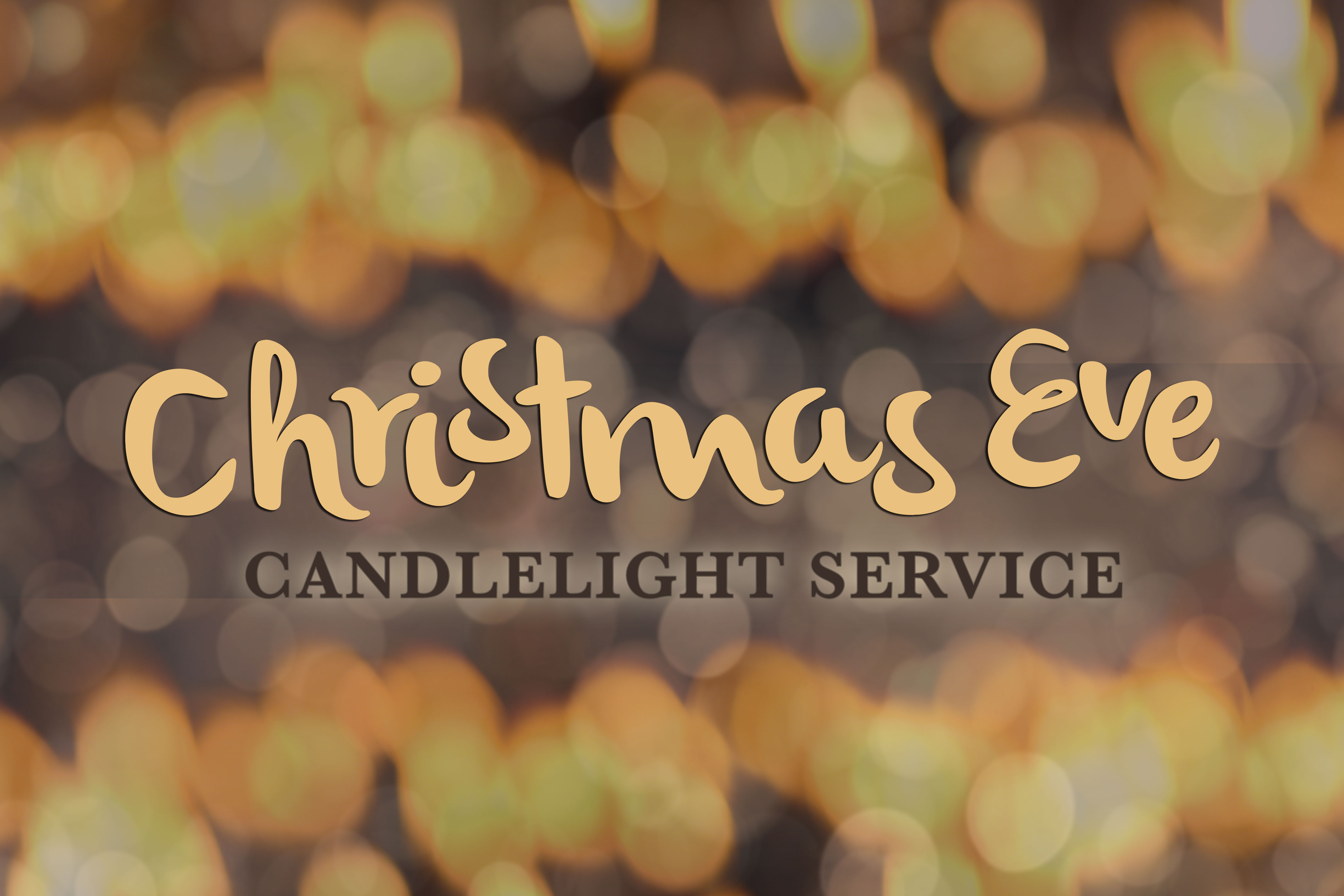candlelight christmas eve service - Christmas Church Service